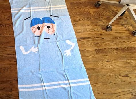 south park towelie towel   paycheck shut