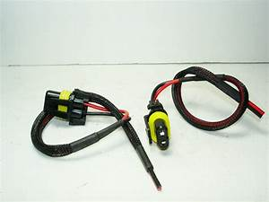 2 New 9006 Hb4 Female Wiring Harness Connectors Plugs