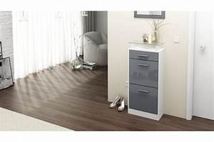Meuble Chaussure Design : petit meuble chaussures design novomeuble ~ Teatrodelosmanantiales.com Idées de Décoration
