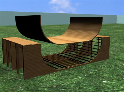 Building A Halfpipe In Your Backyard by How To Build A Halfpipe Or R 7 Steps With Pictures