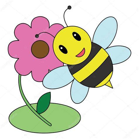 Cute Cartoon Bee White Background Childrens Prints Shirt