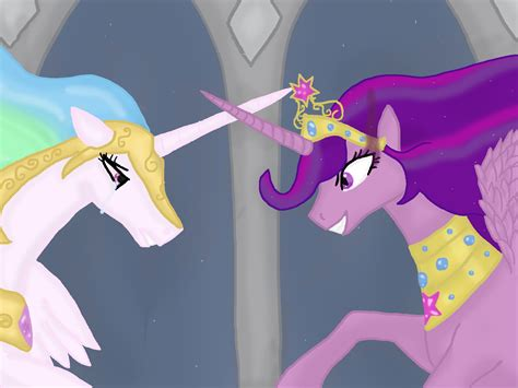 evil twilight  celestia   pony friendship  magic twilight sparke fan art