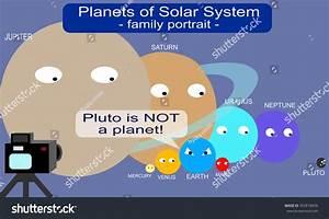 Pluto Not Planet Stock Illustration 392818459 - Shutterstock