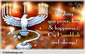 wishing you a happy hanukkah free religious blessings