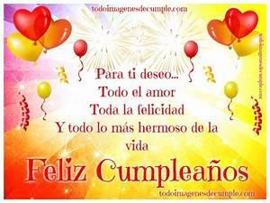 Feliz cumpleaños, para ti deseo