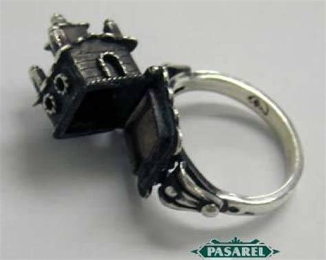 Beautiful Sterling Silver Jewish Wedding Ring Must See!