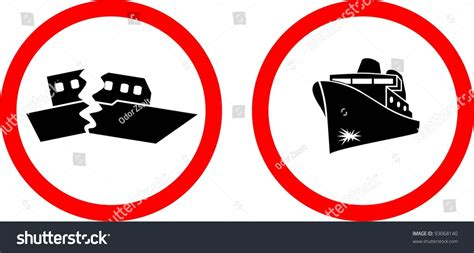 Sinking Boat Vector by Sinking Ship Vector 93068140