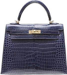 Hermes Crocodile Kelly Bag