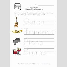 A Large Selection Of Printable Worksheets With A Musical Theme! These Worksheets Will Help Kids