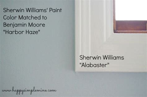 sherwin williams alabaster white trim and cabinetry