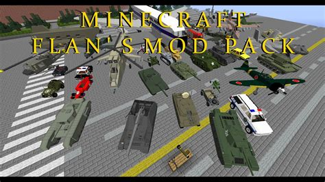 Minecraft Flans Mod 1.7.10 Pack (best Flans Models With