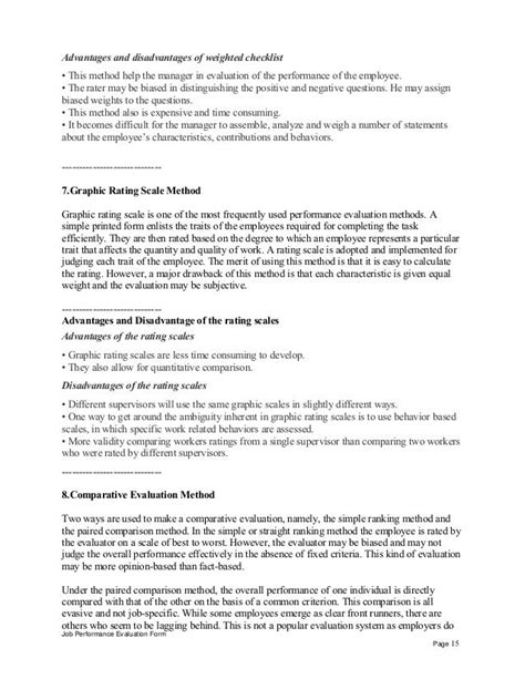 Chronological Resume Advantages And Disadvantages by Advantages And Disadvantages Of Weighted Checklist This