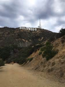 Drive to Hollywood Sign