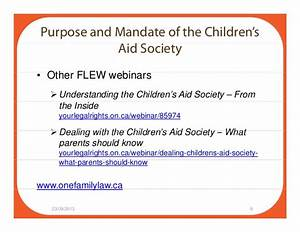 Teenage Mothers and the Children's Aid Society: What Young ...