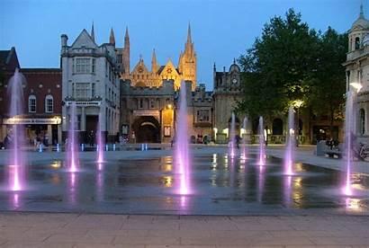 Peterborough Cathedral Square Centre Historic Through Osborne
