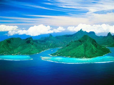 Nature Cooks Bay And Opunohu Bay Moorea Island French