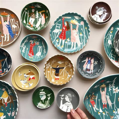 ceramic artists ceramics fern polly pottery painting finally updated been bowls sculptures plates siebert lori pins