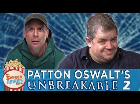 patton oswalt annihilation youtube rapid fire movie news just for fun unbreakable 2 bob