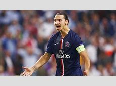 PSG Zlatan Ibrahimovic welcomes Malmo to Paris in UCL