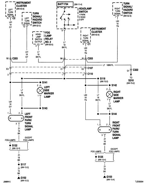 jeep yj light wiring diagram 2000 jeep wrangler