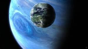 Pandora from Space from Avatar Desktop Wallpaper