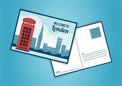 Postcard London Template