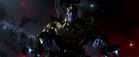 Image - Thanos sitting on his throne.png | Marvel ...