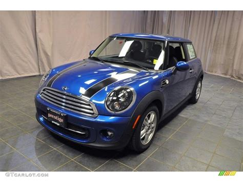 Mini Cooper Blue Edition Picture by 2013 Lightning Blue Metallic Mini Cooper Hardtop 71633551