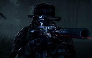 Wallpaper Sniper Battlefield 4 Night Operations 4K