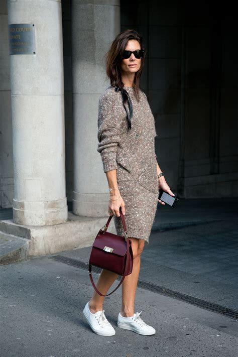 outfit sweater dress glamour sweaterdress idea winter fall opshaug hedvig last