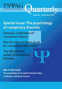 Conspiracy Theories Psychology