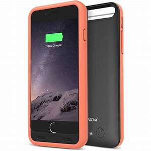 Atomic S Battery Case For Iphone 6 6s 4 7  U2013  Black    Orange