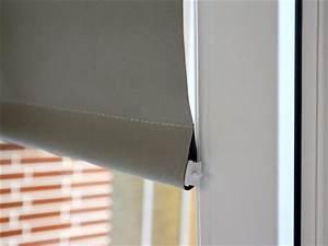 Rollo Mit Seitenführung : klemmfix rollo thermo granit mit pendelsicherung clever kauf 24 ~ Watch28wear.com Haus und Dekorationen