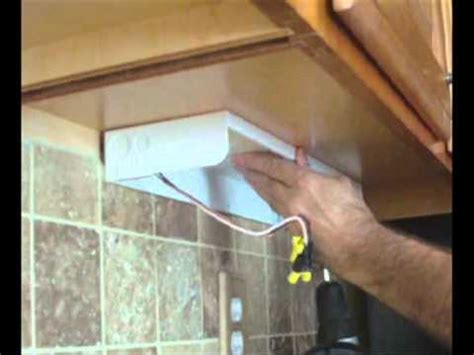 how to install kitchen cabinet lighting how to install an cabinet lighting 8696