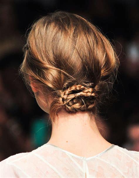coiffure mariage cheveux court et fin chignon cheveux fins