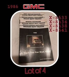 1986 Chevy Gmc Medium Heavy Duty Truck Wiring Diagrams