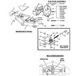 swisher model t1360h mower deck genuine parts With 60 swisher mower wiring diagram on nintendo controller wiring diagram