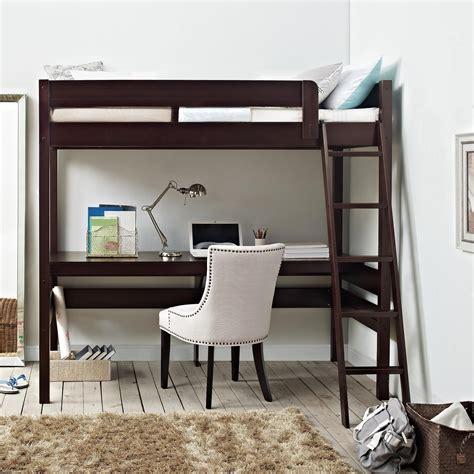 dining room tables dorel living dorel living harlan loft bed with desk