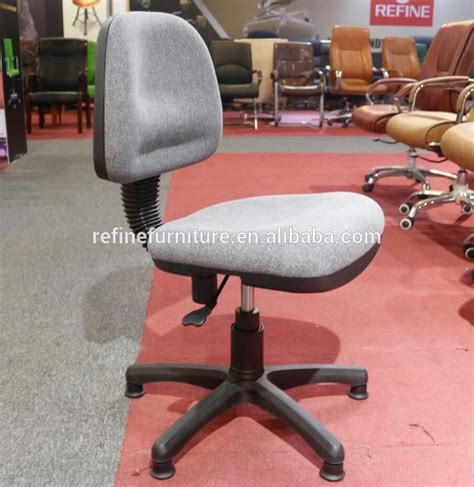 fabric sewing machine operator office chair without