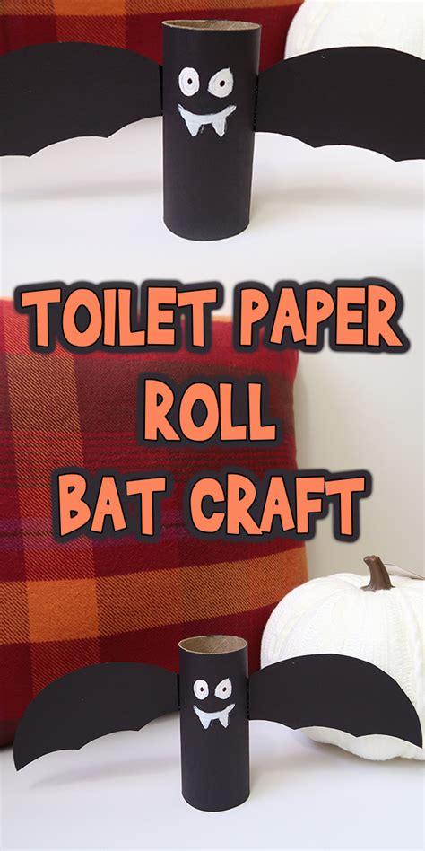 toilet paper roll bat craft woo jr kids activities