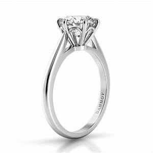 danhov classico single shank engagement ring style cl110 With single wedding ring