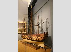 Photos of model of Louis le Grand, scale 1 12