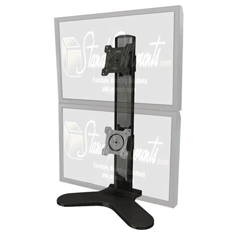 dual monitor stands for desktop crimson dual monitor desktop stand for 10 24 inch screens