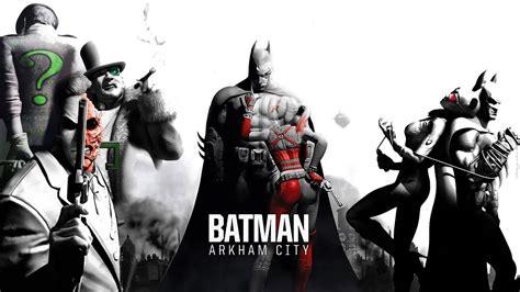All Batman Arkham City Cutscenes Movie Hd Youtube