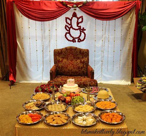 lets   lovely sreemantham decoration south indian