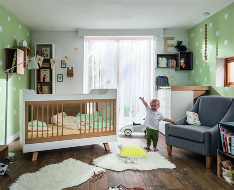 chambre bébé promo baby vox 4 you baby 2 meubles lit 140x70 commode baby