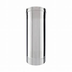 Conduit Cheminée Inox : tuyau inox simple paroi 50 cm tubage chemin e ~ Preciouscoupons.com Idées de Décoration