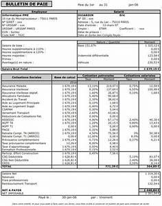 Exemple Bulletin De Paie Avec Indemnité De Licenciement : modele fiche de paie avocat salarie document online ~ Maxctalentgroup.com Avis de Voitures