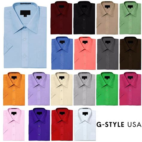 shirt colors new s regular fit sleeve solid color dress