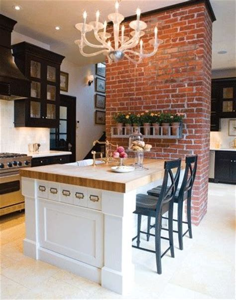 kitchen island brick 1000 ideas about kitchen brick on tiles uk 1849